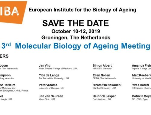 3rd Molecular Biology of Ageing Meeting – 10-12 October 2019
